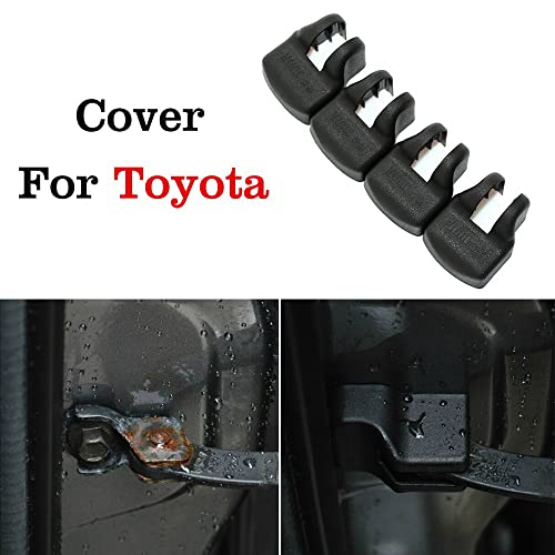 JessicaAlba 4x Car Door Check Arm Protection Cover For Toyota Corolla Prius RAV4 Camry Venza FJ