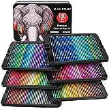 Best Colored Pencil Sets - KALOUR 180 Colored Pencil Set for Adults Artists Review