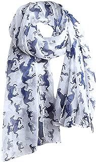 Urlaub Dating Stil Frauen Damen Pferd Druckmuster Spitze Lange Schal Party Strand Warme Bunte Elegante Wrap Schal