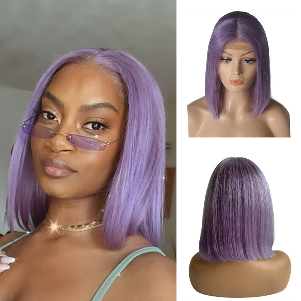 Lace Part Bob Max 50% OFF Wigs Human Hair Straight online shopping 13x4x1 Front T
