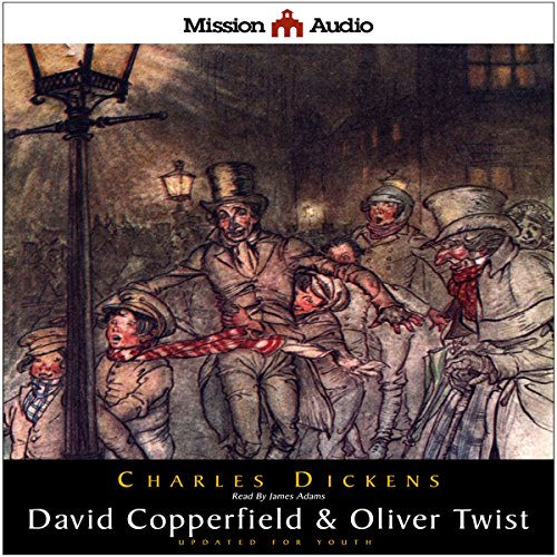 David Copperfield & Oliver Twist (Adapted for Young Listeners) cover art