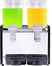 CLING Dryckesdispenser maskin kommersiell varm och kall juicemaskin automatisk dubbel cylinder is te dryckmaskin rostfritt...