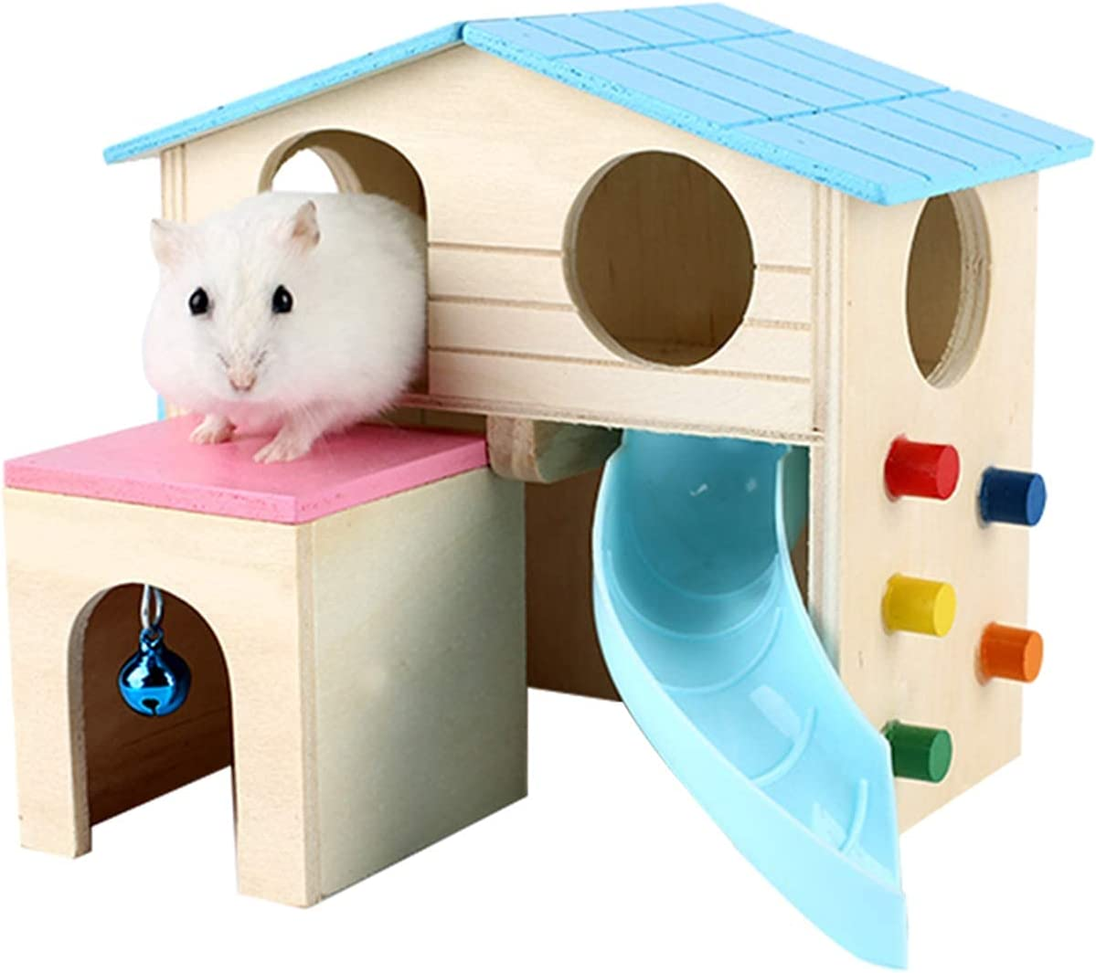Toylord Pet Small Brand new Animal Hideout Layers Hamster At the price House Two Deluxe