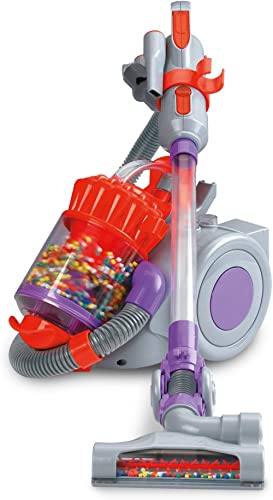 Casdon 624 Dyson DC22 Roleplay Kids Toy Vacuum Cleaner,Grey/Purple/Red