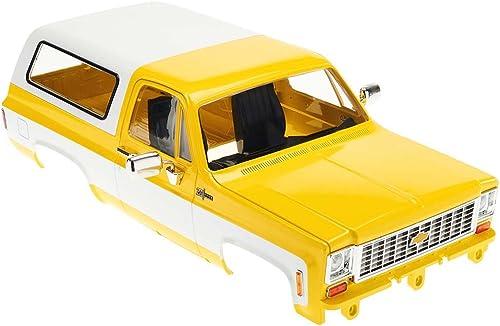 tomamos a los clientes como nuestro dios RC4WD Complete Chevrolet Blazer Blazer Blazer Hard Body Set amarillo Z-B0152 K5 TF2 MWB  contador genuino
