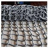 Enfant Filet De Protection Hemp Rope Nets Filet de sécurité anti-chute, filet d'escalade extérieur, filet de protection for enfants Filet d'entraînement en corde Corde de jeux for enfants Maternelle E