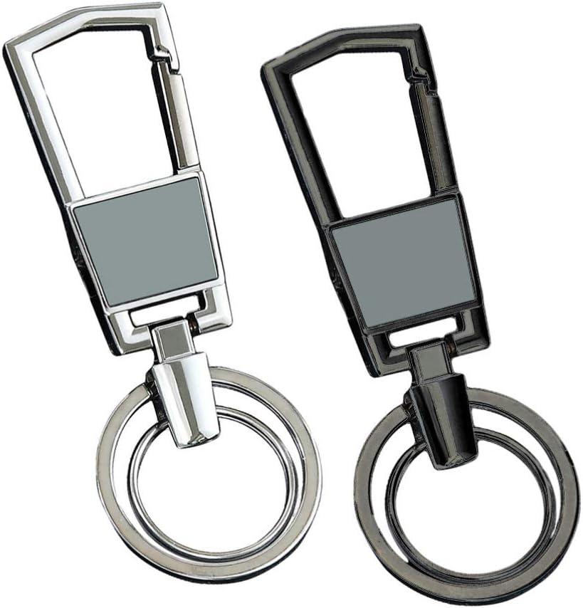 BESPORTBLE 2pcs Zinc Key Rings Alloy Keychain Car Keyring Keychain Bag Pendant Gift Key Chain bag pendant keychain