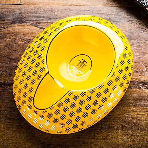 Cigar Ashtray Single Classic Ceramic Ashtray Use Outdoor Or Indoors, Cool Smokers Gift - Decorative Ashtray
