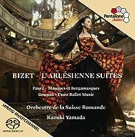 Bizet: LArlesienne Suites & music by Faure & Gounod(Hybrid SACD - plays on all CD players by Orchestre de la Suisse Romande (2013-11-28)