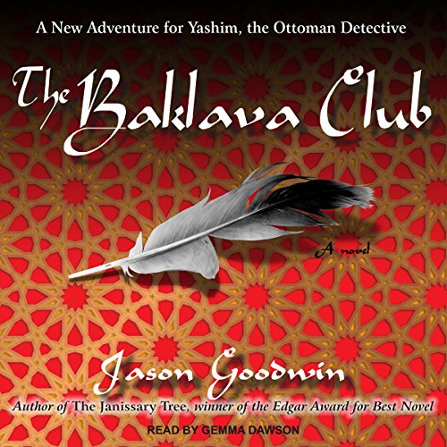 The Baklava Club audiobook cover art