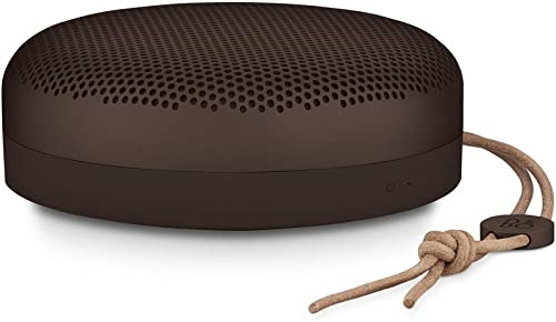 2021 Bang new arrival & Olufsen lowest Beoplay A1 Portable Bluetooth Speaker with Microphone, Chestnut outlet sale