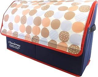 アットファースト(At First) 紙袋ストッカー ピンク 約W55×D20×H35cm AF1562