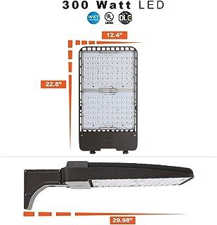 300 Watt LED Parking Lot / Area Light 5000K Color Temperature with Pole Mount