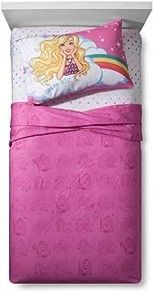 Mattel Barbie Unicorn Dreamtopia Twin Sheet Set Super Soft