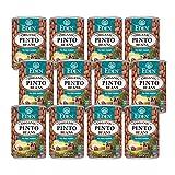 Eden Organic Pinto Beans, 15 oz Can (12-Pack), No Salt, Non-GMO, Gluten Free, Vegan, Kosher, U.S. Grown, Heat and Serve, Macrobiotic, Frijol Pinto