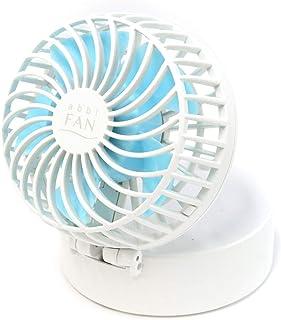 Abbi FAN ポータブル扇風機 携帯扇風機 首かけ扇風機 超小型 アビィファン ホワイト 折り畳み式 USB充電式 ストラップ付き ミラー付き 3段階調節【日本正規代理店品】