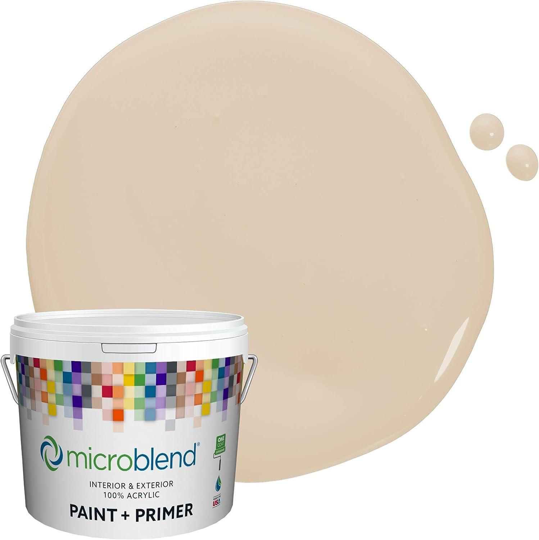 Microblend Interior Paint and Primer - Cozy 激安 激安特価 送料無料 S Cream 送料無料でお届けします Beige Satin