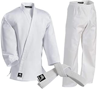 Zephyr Martial Arts Karate Gi Student Uniform - White Belt