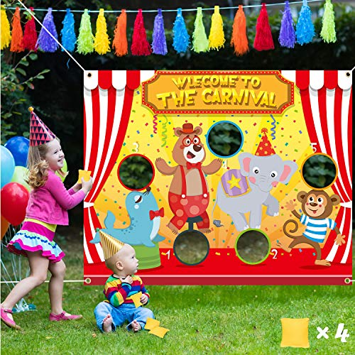 Carnival Bag Tossing Game