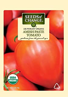 Seeds of Change S17553 Certified Organic Amish Paste Tomato