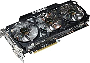 Gigabyte GTX 770 GDDR5-4GB 2xDVI/HDMI/DP OC WINDFORCE 3X Graphics Card (GV-N770OC-4GD)