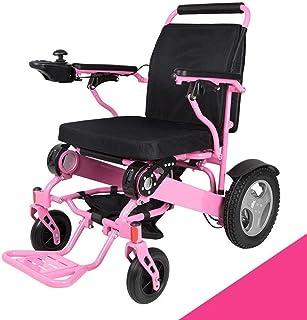 2020 Silla de ruedas eléctrica con Bluetooth Control Remoto, motorizado plegable plegable de alimentación compacto Movilidad for sillas de ruedas Aid, ligero plegable Llevar Silla de ruedas eléctrica,