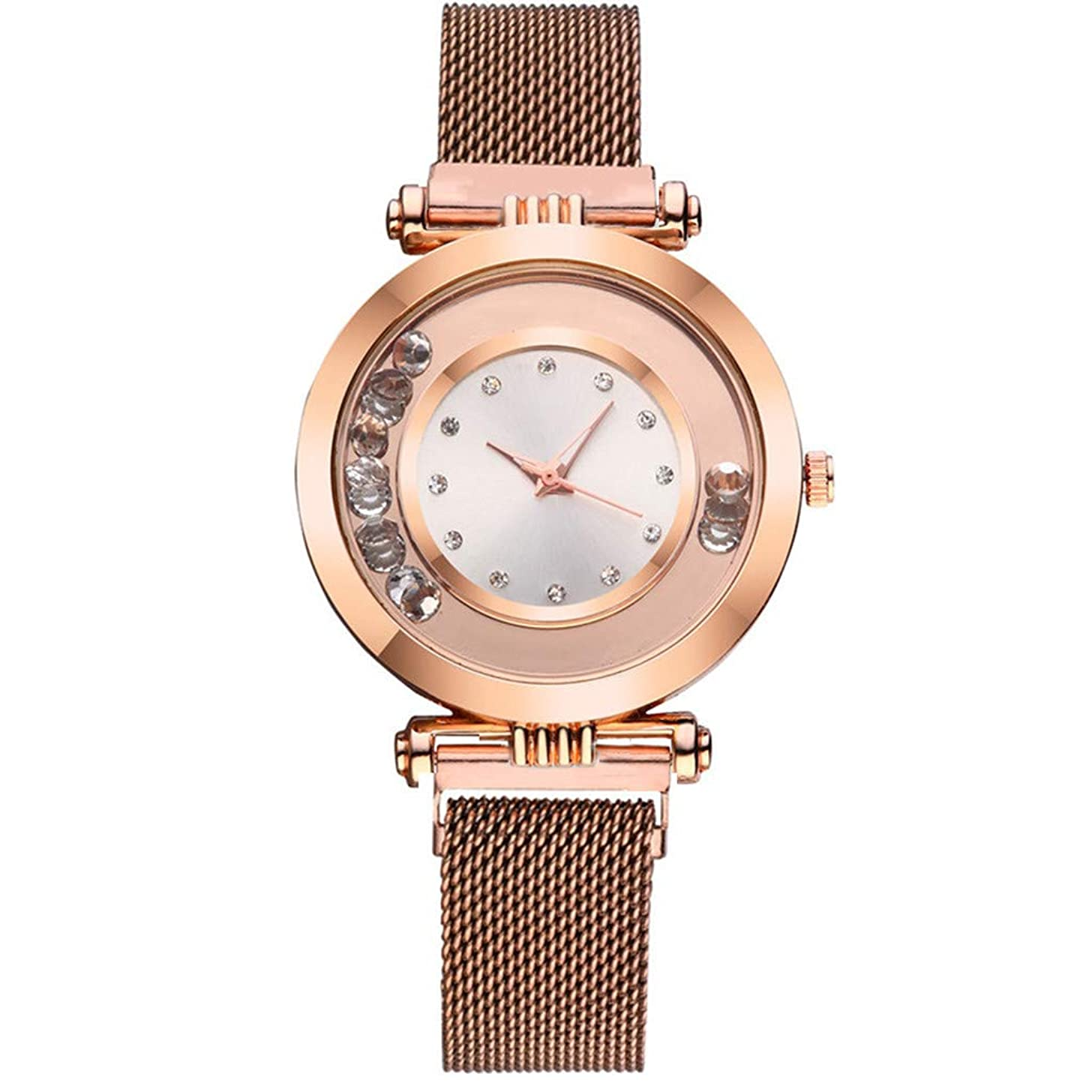 Clearance! Hot Sale ? Fashion Quartz Watch Women Stainless Steel Watchband Wristwatch Gift for Female Under 10 Dollars 2019 New