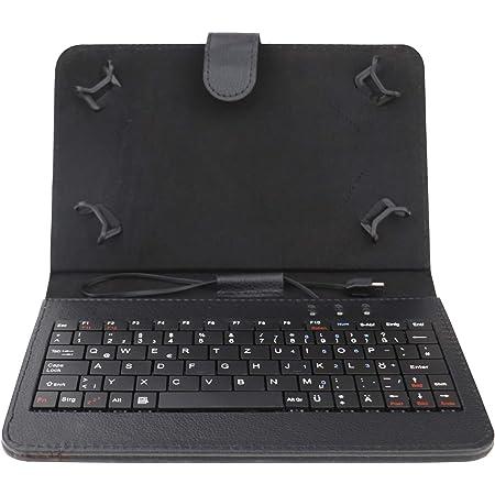 AKNICI Funda de 7 pulgadas con teclado alemán QWERTZ para ...