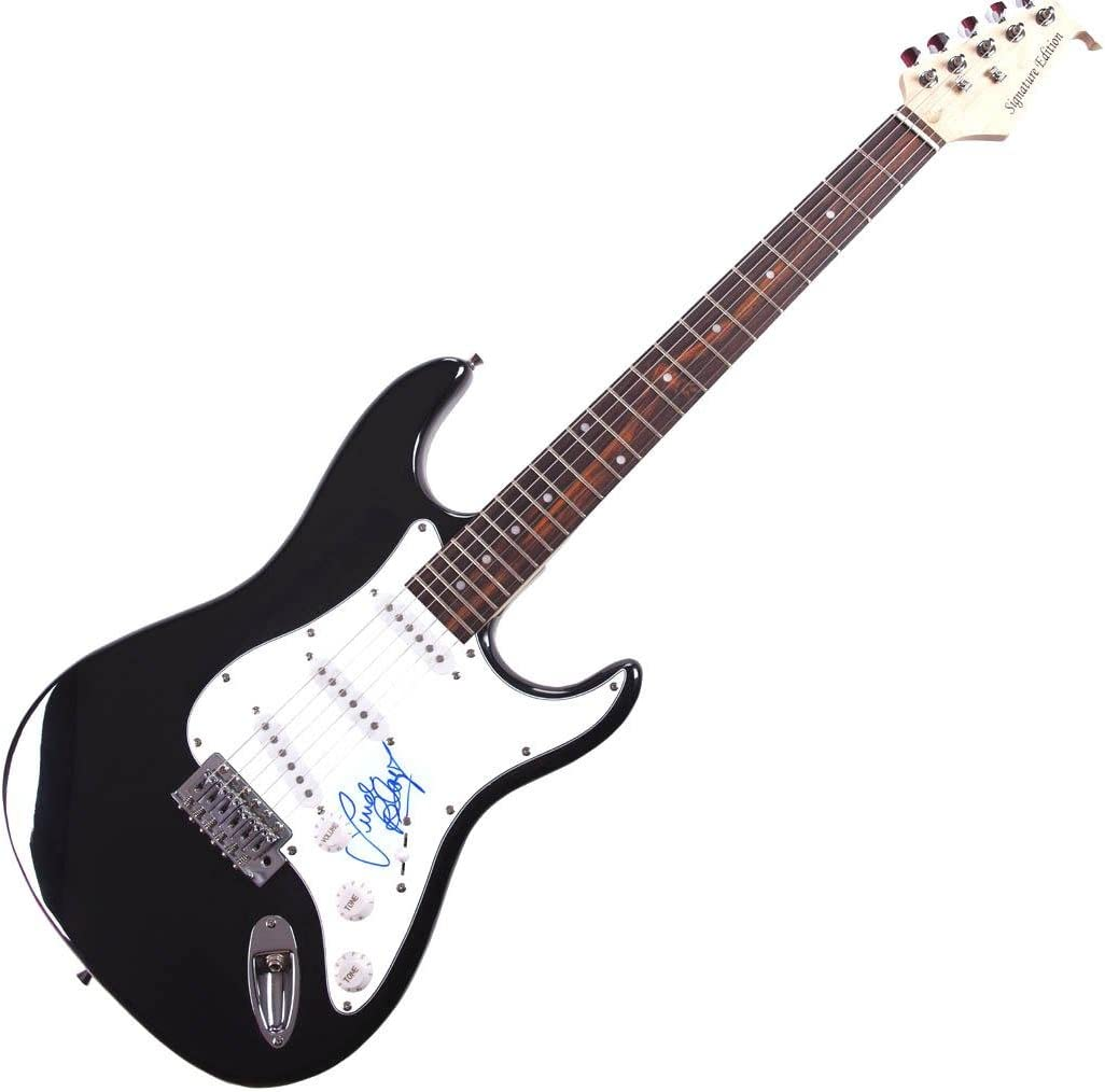 Linda Blair Autographed Signed Ranking TOP10 Electric RD AFTAL online shopping Guitar COA UACC
