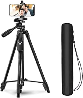 三脚 スマホ 三脚 ビデオカメラ さんきゃく一眼レフ 軽量 コンパクトミニ三脚 3WAY雲台 4段階伸縮 360回転 アルミ製 収納袋付き 旅行用 持ち運びに便利 iPhone/Androidスマホ等対応