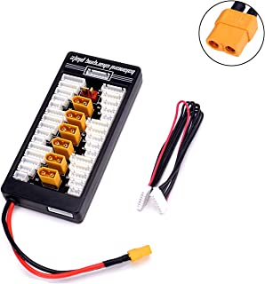 XT60 Lipo Battery Charger 2S-6S Parallel Balanced Charging Board Charging Plate for Imax B6 Lithium Battery Charger RC Parts