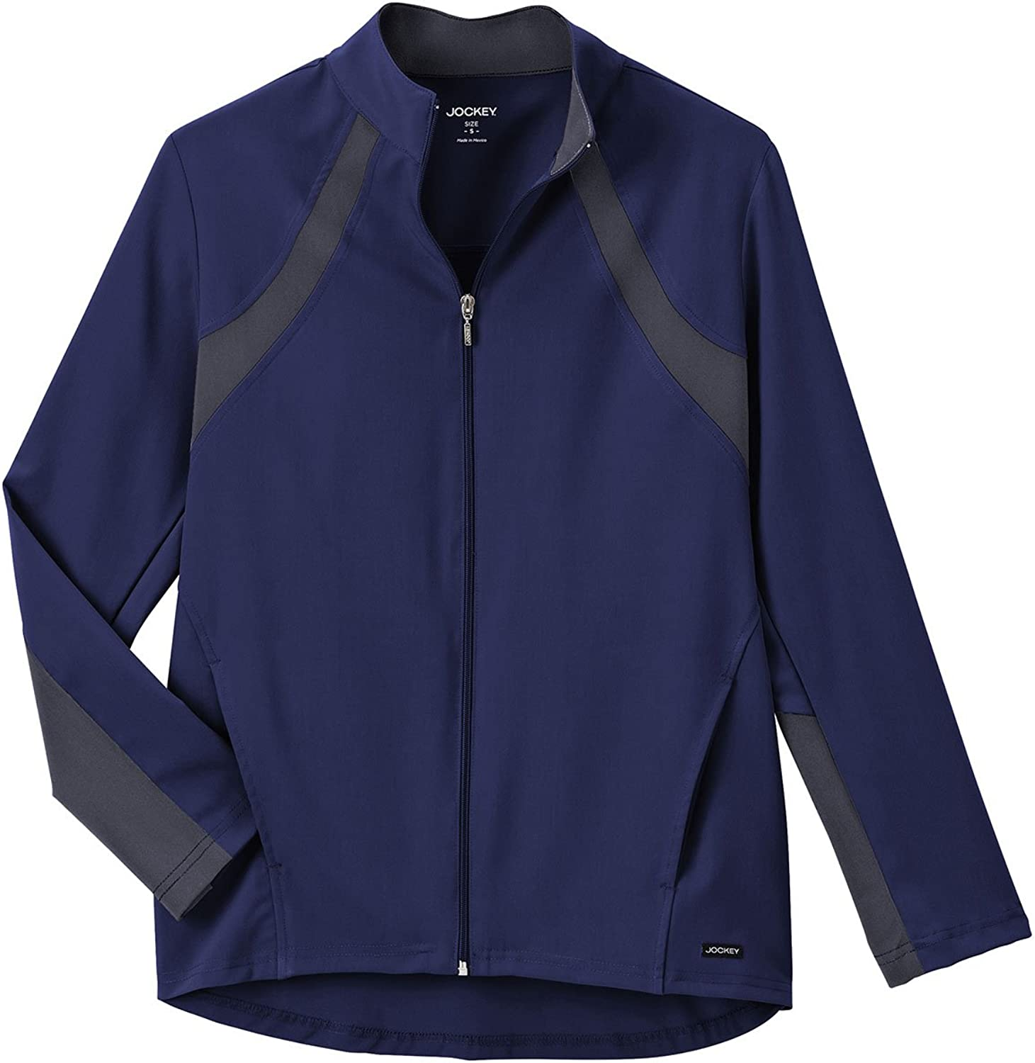 Jockey Scrubs Ladies Athletic Contrast WarmUp Scrub Jacket