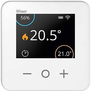 MCO Home MCOEMH7H-EH2 Thermostat MH7 f/ür Elektroheizungen mit Feuchtigkeitssensor 230 V Wei/ß
