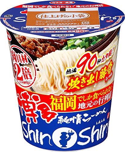 サンヨー食品 博多純情らーめん ShinShin監修 炊き出し豚骨らーめん 100g ×12個