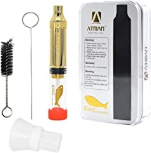 AUTHENTIC ATMAN King Golden Fish For Herbs Flowers, Quartz Glass Tube, 1.8g Large Capacity Twist Kit, No Paper, from USA