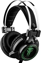 GT Gaming Headset for PS4 Xbox One PC, Noise-Isolation Headphones with Microphone Stereo Surround Sound for Mac Laptop (Gr...