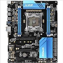 ASRock X99 EXTREME3 LGA2011-v3/ Intel X99/ DDR4/ Quad CrossFireX & Quad SLI/ SATA3&USB3.0/ M.2/ A&GbE/ ATX Motherboard