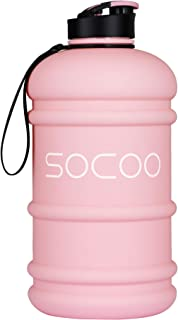 Half Gallon Water Bottle Dishwasher Safe Tritan US BPA Free 2 Litre Big Water Bottles Leak Proof Reusable Large Water Jugs...