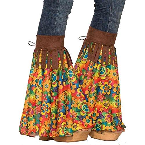 Forum Novelties Women's Hippie Add-a-Bells, Multi, Standard