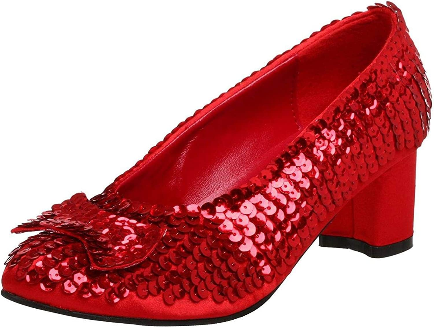 Funtasma by Pleaser Women's Pump Red Sequins Size -8