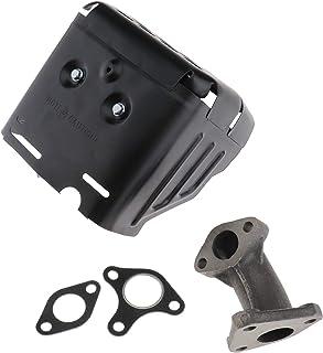 Create Idea Conjunto de escape de silenciador con junta colectora de repuesto para motor de coche