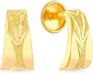 Malabar Gold and Diamonds 22KT Yellow Gold Stud Earrings Earrings for Women