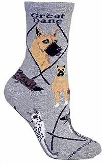 Great Dane Woman's Socks ,Gray,9-11