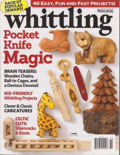 Whittling Magazine Pocket Knife Magic 2015