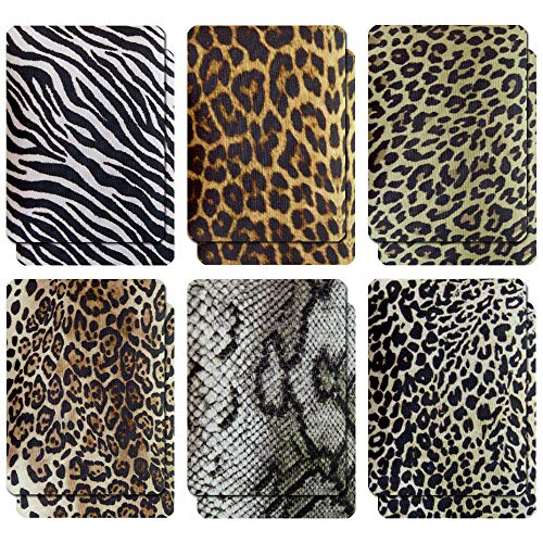 Iron-On Patches for Clothes, Rectangular Iron-On Patches Animal Fur Pattern, 12 Pieces