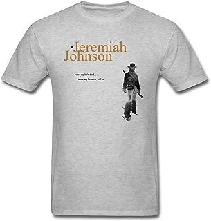 Xerinin Men's Jeremiah Johnson Logo T Shirts