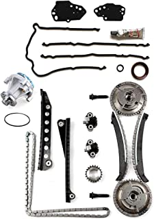 OCPTY Timing Chain Cover Gasket Kit with Water Pump fit for 04-06 Lincoln Navigator, Lincoln Mark LT, Ford F-150, Ford F-250 Super Duty, Ford F-350 Super Duty 5.4L