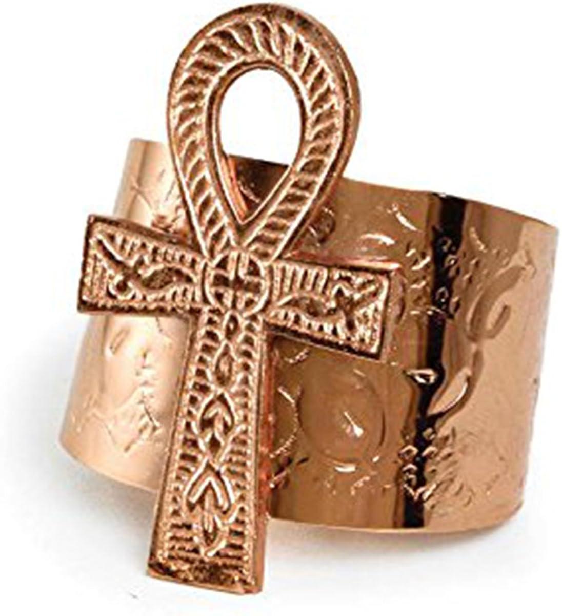 Ankh Cuff: Copper