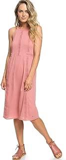Womens Blurred Landscape Halter Neck Dress ERJWD03257