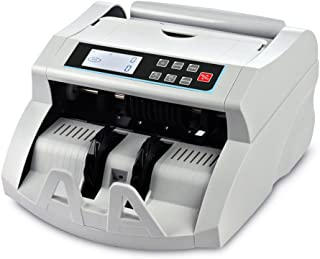 Money Counter Machine DOMENS Bill Counter UV/MG/IR/DD Counterfeit Detection Automatic Currency Cash Counting Machine(LCD Display)